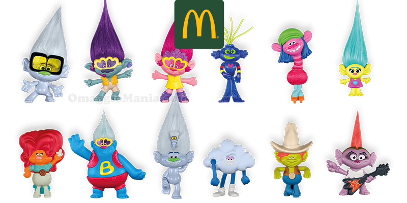 sorprese Trolls da McDonald's con Happy Meal