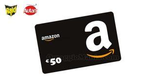 Vinci un buono regalo Amazon.it con Raid e Autan da Risparmio casa
