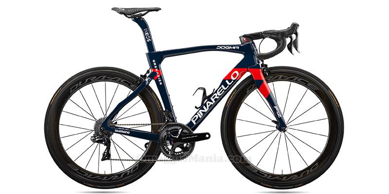 bicicletta Pinarello Dogma F12 Ineos Grenardiers Edition