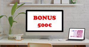 bonus 500 euro PC o tablet