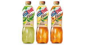 bottiglie Estathé Bio verde limone pesca
