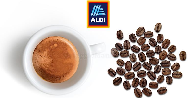caffè gratis da Aldi agosto 2020