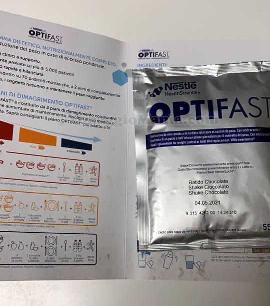 campione omaggio Optifast Nestlé di Francesca