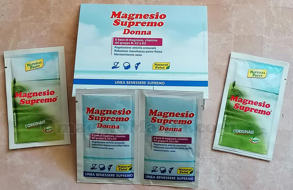campioni omaggio Magnesio Supremo Donna di Sole