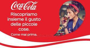 concorso Coca Cola Ripartiamo insieme, vinci e regala