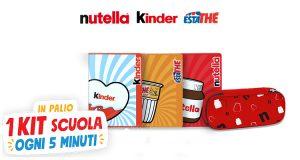 concorso Ferrero Vinci 1 kit scuola limited edition Ferrero ogni 5 minuti