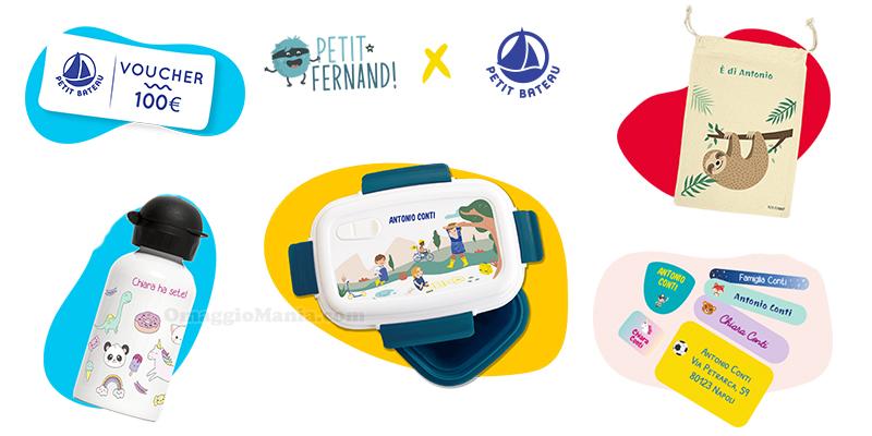concorso Petit-Fernand x Petit Bateau