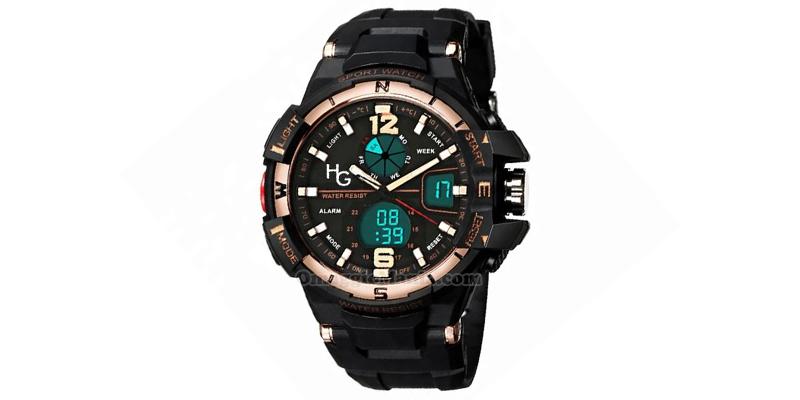 orologio sportivo Hector Army Gold