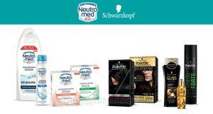 prodotti Neutromed e Schwarzkopf