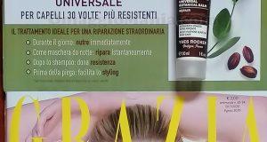 rivista Grazia 32 2020 con balsamo botanico universale Yves Rocher di Sole.psd