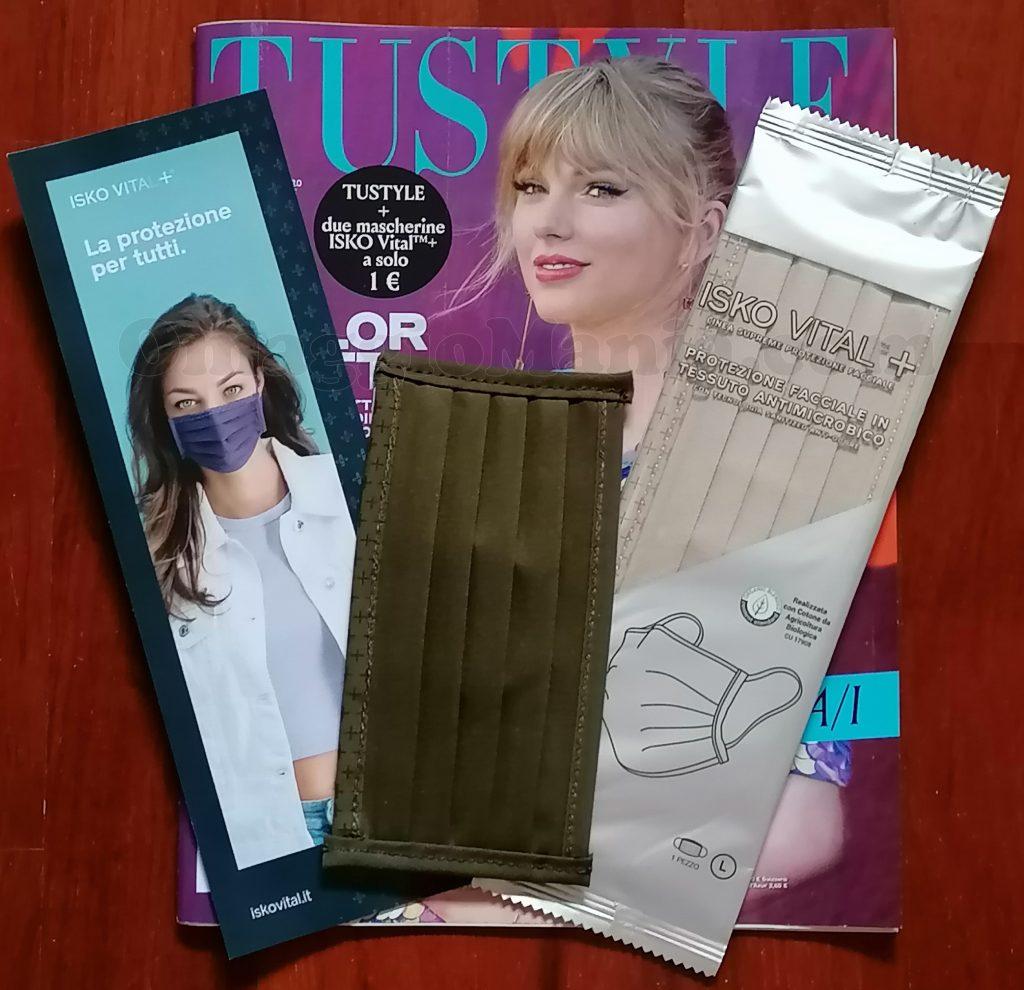 rivista Tu Style 34-35 con 2 mascherine ISKO Vital+