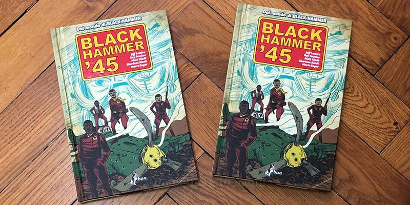 vinci copia omaggio cartonato a colori Black Hammer '45