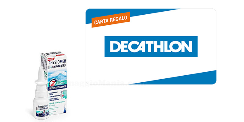 Premiati con Physiomer - Decathlon