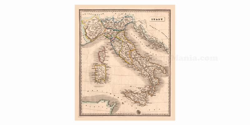Cartina D Italia 1940.Ricevi Gratis La Cartina Storica Dell Italia Omaggiomania