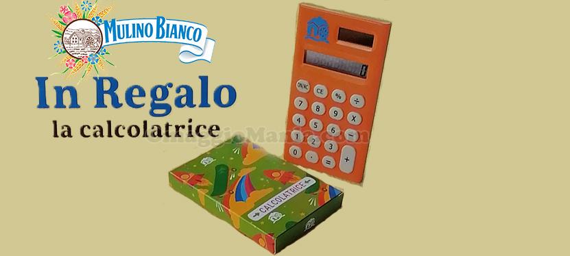 calcolatrice Mulino Bianco omaggio