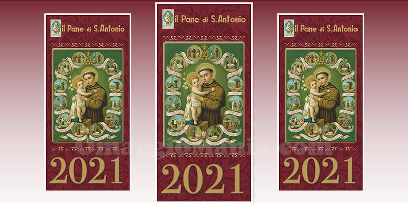 calendario 2021 Pane di Sant'Antonio