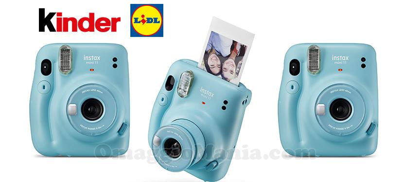 concorso Con Ferrero e Lidl puoi vincere una fotocamera a sviluppo istantaneo