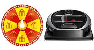 concorso Members Week vinci robot aspirapolvere Samsung POWERbot Precision