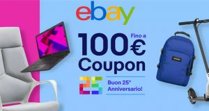 eBay 25 anni back to coupon