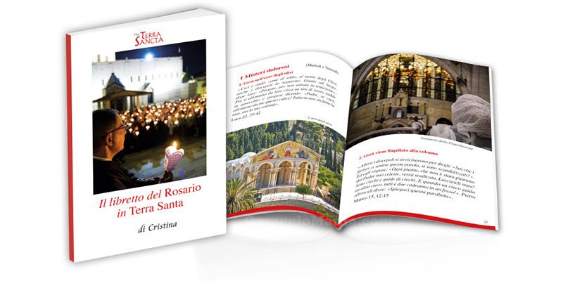 libretto del Rosario in Terra Santa