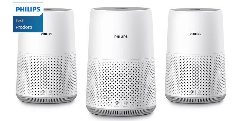 tester purificatore d'aria Philips