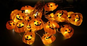 zucche luminose Halloween LED