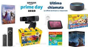 Amazon Prime Day 2020 ultima chiamata