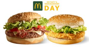 McDonald's Big Tasty & Gran McChicken Day 2020