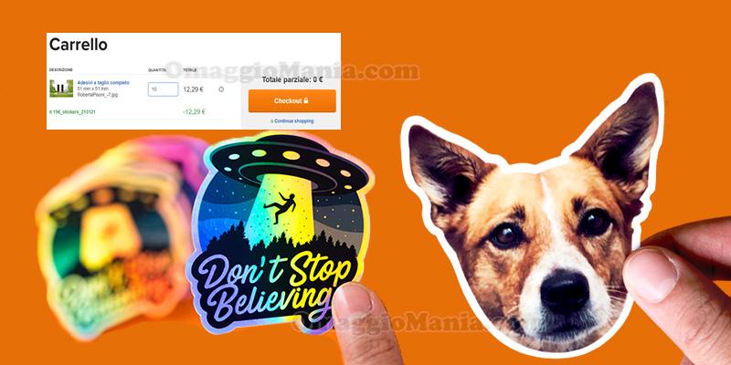 adesivi personalizzati gratis Stickermule