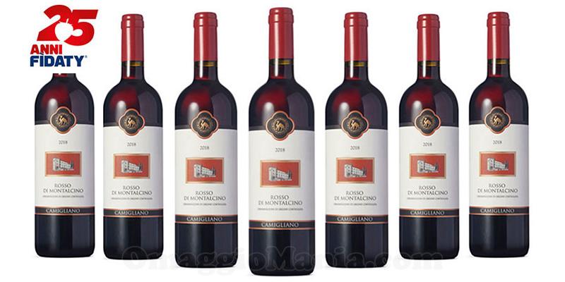 bottiglie Rosso di Montalcino Esselunga 25 Anni Fìdaty