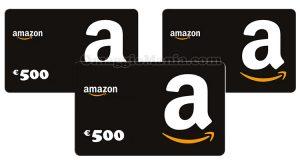 buoni Amazon 500 euro