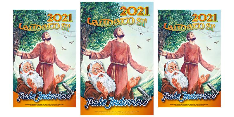 calendario Frate Indovino 2021