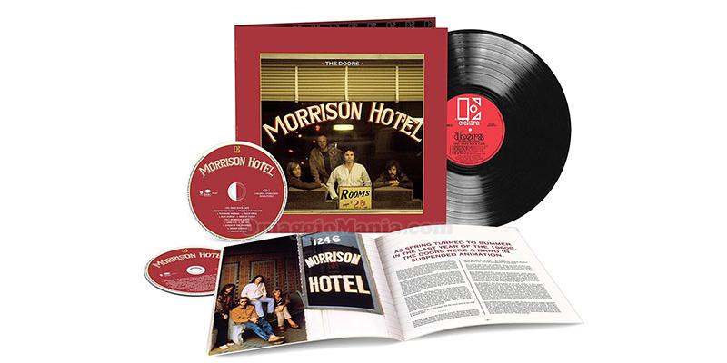 cofanetto The Doors cofanetto Morrison Hotel 50th Anniversary Deluxe Edition