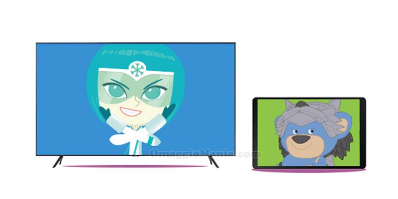 concorso Cartoonito Samsung