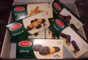 kit fornitura biscotti Delacre di Cheneso