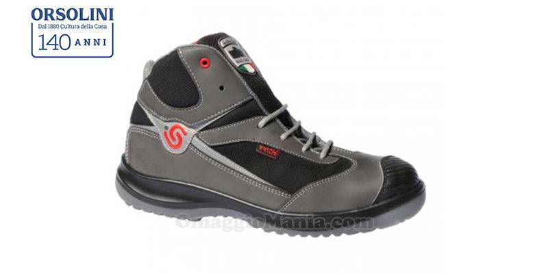 scarpe da cantiere omaggio da Orsolini