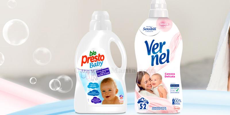 tester Bio Presto Baby & Vernel Carezza Delicata