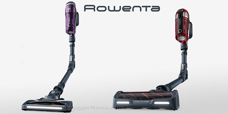 tester Rowenta X force con The Insiders