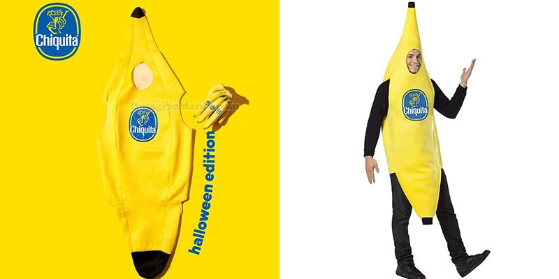 vestito banana Chiquita con esempio