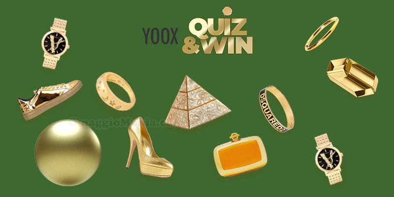 Yoox Quiz 'n Win