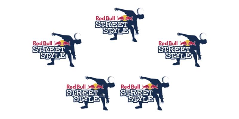 adesivi Red Bull Street Style