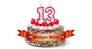compleanno OmaggioMania 13 anni
