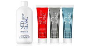 dentifricio e collutorio Mediblanc
