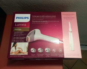 epilatore a luce pulsata Philips Lumea Prestige di Monica