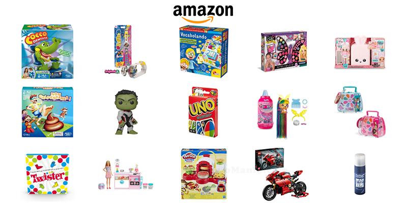 giocattoli su Amazon