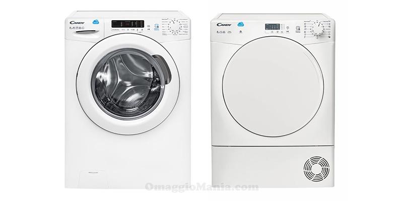 lavatrice e asciugatrice Candy