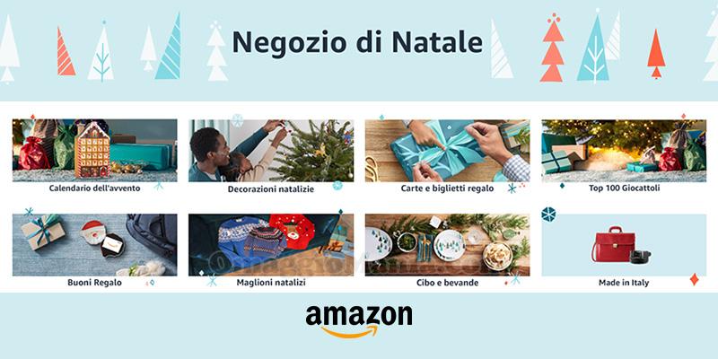 negozio di Natale Amazon 2020