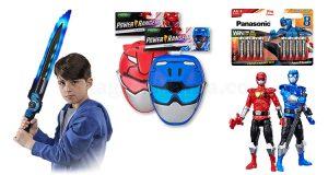 premi concorso Panasonic Power Rangers Power your day