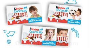Kinder Cioccolato personalizzato con il volto del tuo bambino