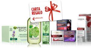 L'Oréal Garnier Acquista un trattamento viso ed un detergente viso e ricevi in omaggio una gift card da 10€